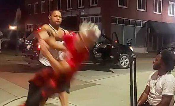 Black Man sucker-punches 12-yr-old white Boy
