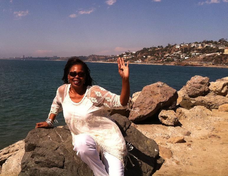 Diane Blackmon at the ocean1