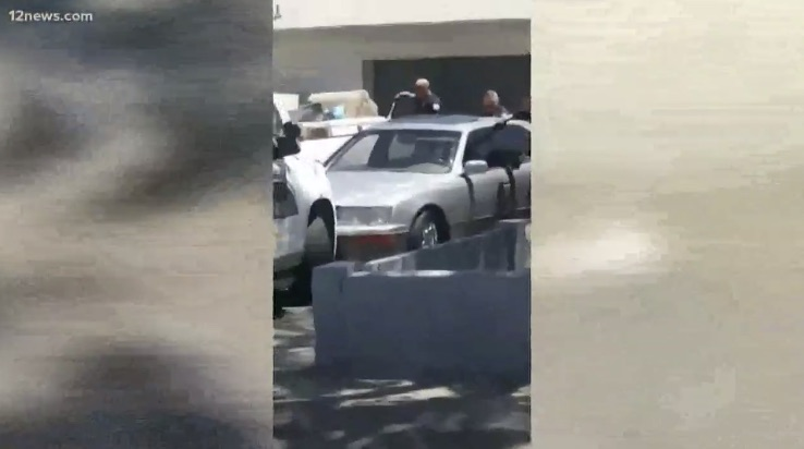 Video shows moments leading up to fatal Phoenix police shooting on July 4