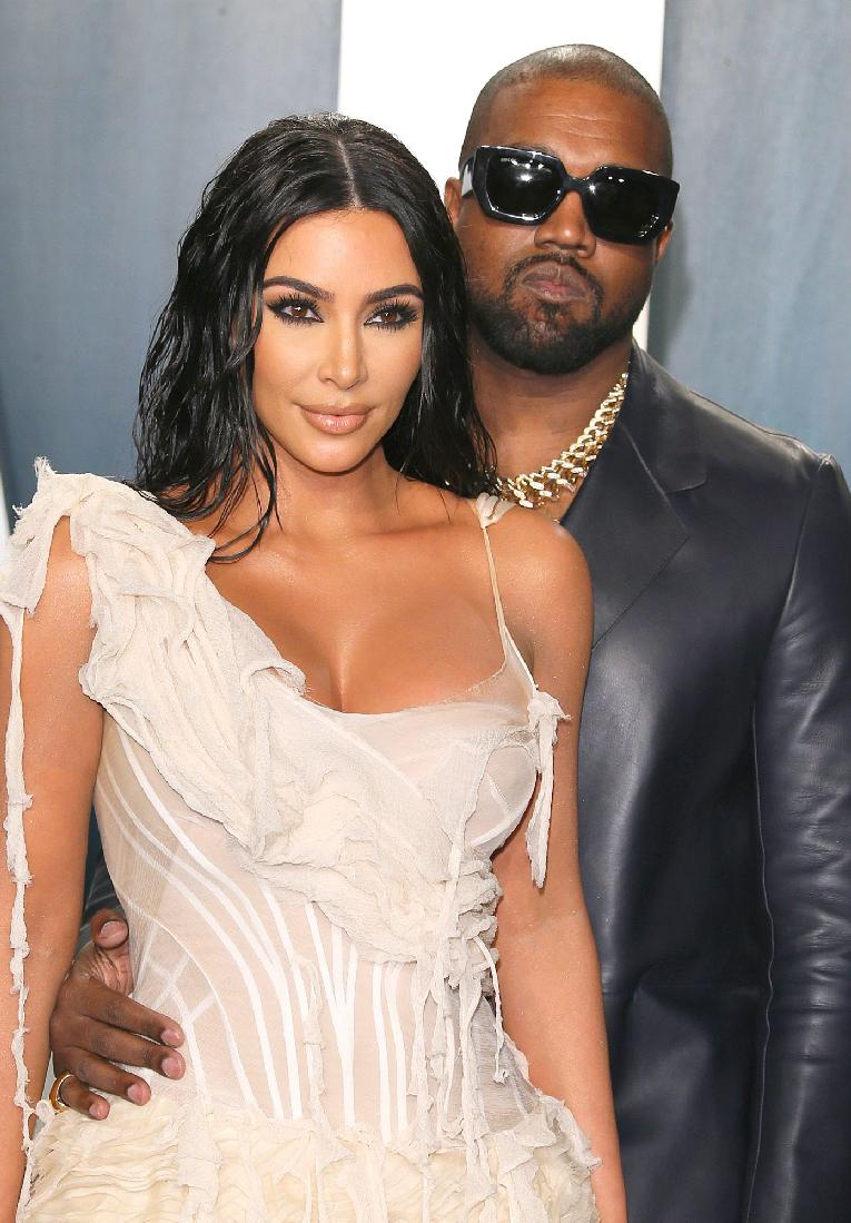 Kim Kardashian & Kanye West - Getty - image