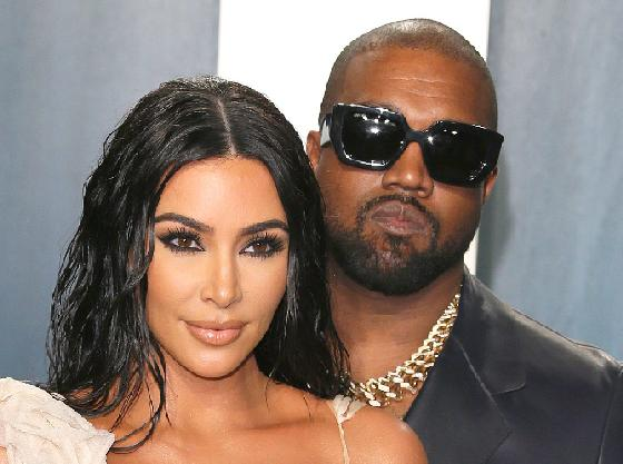 Kim Kardashian & Kanye West - Getty - image1