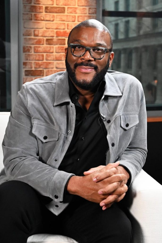 Tyler Perry (sitting - getty)