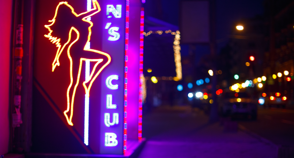 strip club logo