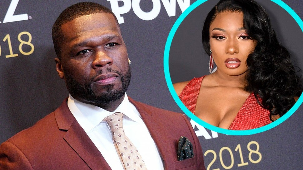 50 Cent Apologizes For Mocking Megan Thee Stallion Shooting I Didn T Think This Sh T Was Real