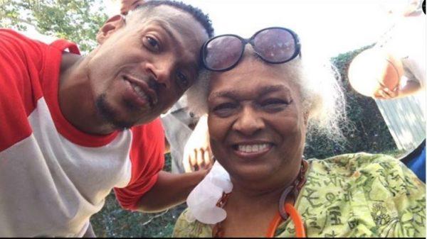 Marlon Wayans and his mother Elvira - Instagram