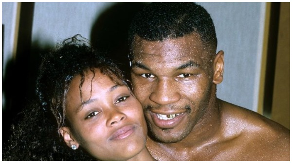 mike tyson and robin givens