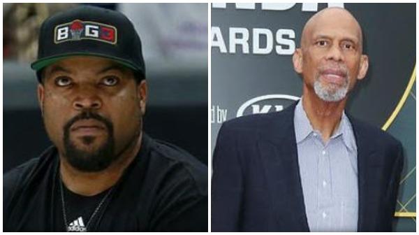 Ice Cube slammed Kareem Abdul-Jabbar