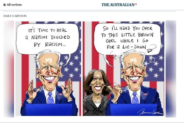 Biden-Harris racist cartooon-1
