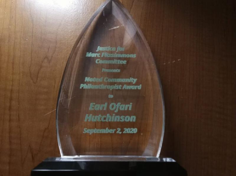 Earl Ofari hutchinson award