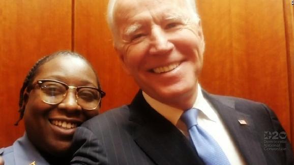 Jacquelyn Brittany & Joe Biden