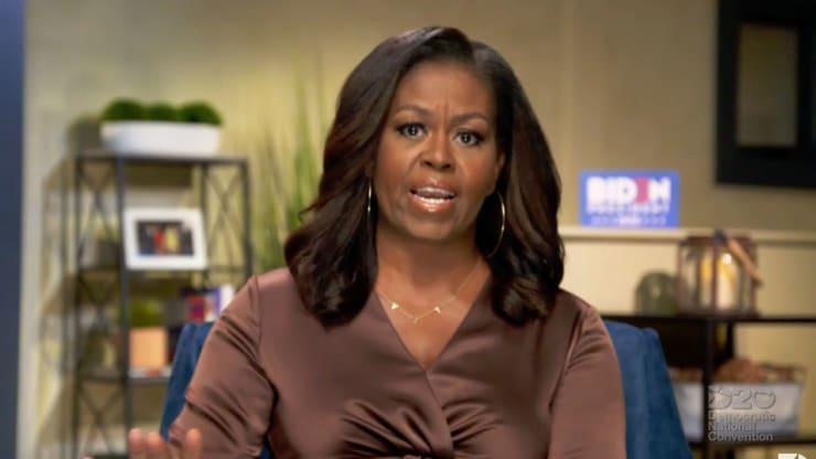 Michelle Obama - DNC speech-screenshot
