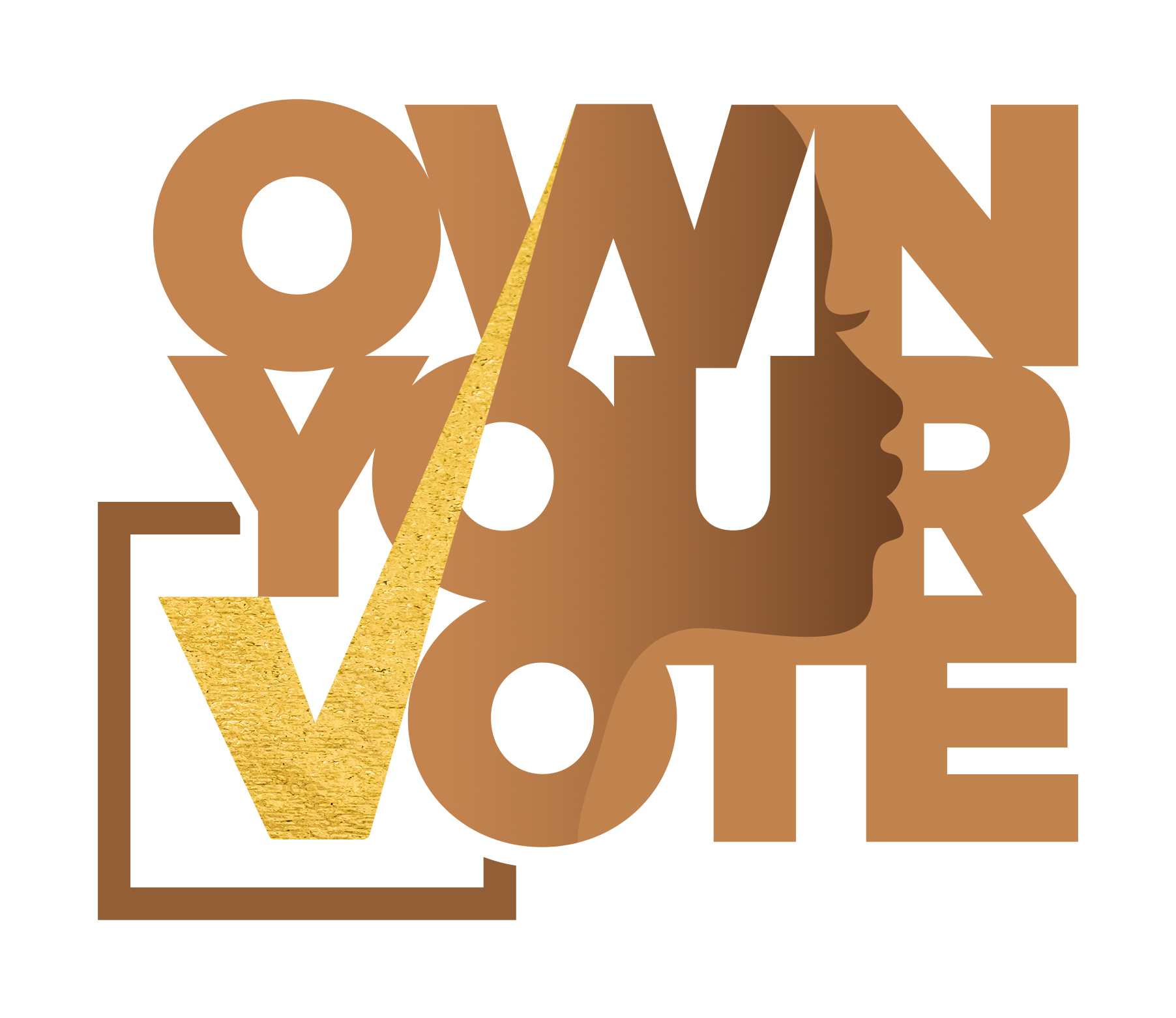 OWN YOUR VOTE Logo
