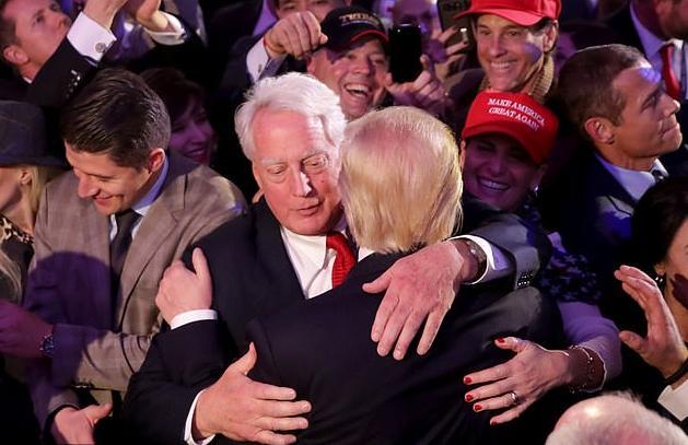 Robert & Donald Trump - Getty