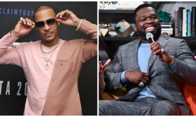 T.I. and50 Cent - via Getty