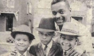 Clarence Burke Sr and boys