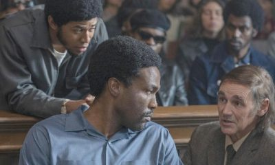 Chicago 7 - Black characters & white lawyer-courtroom- Netflix