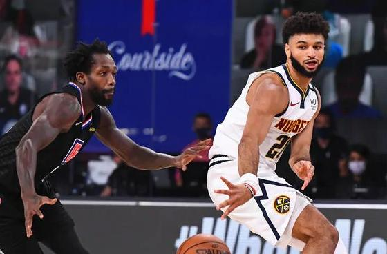 Jamal Murray (Nuggets) passes ball in game 7 against clippers1 (Getty)