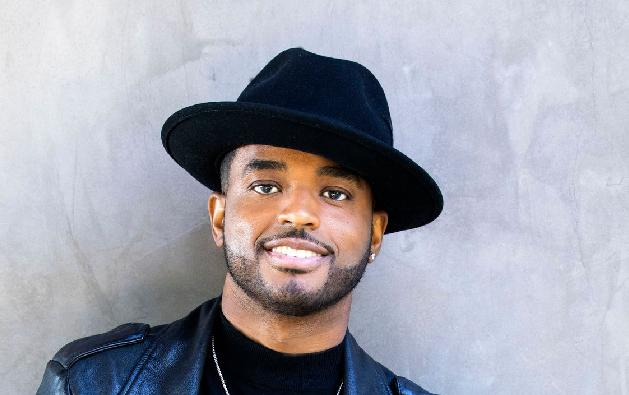 Larenz Tate (leather jacket - hat1)