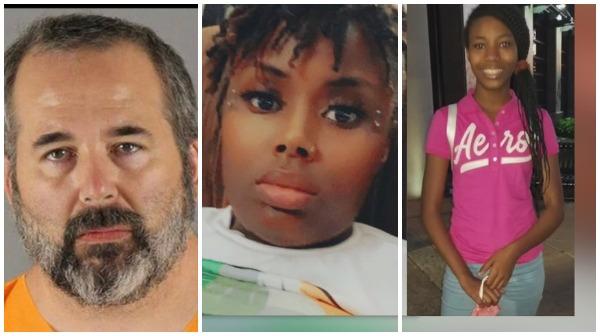 Jason Michael Mesich shot his neighbors - Makayla, 12, and Canisha, 29 - twitter