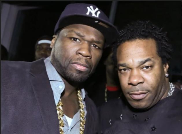 50 Cent - Busta Rhymes (WireImage/Getty)