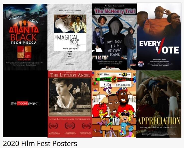 BHERC 2020 Film Fest posters