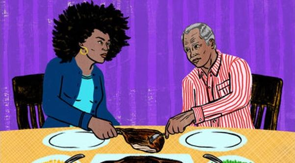Black Female & Black Male Thanksgiving - NPR