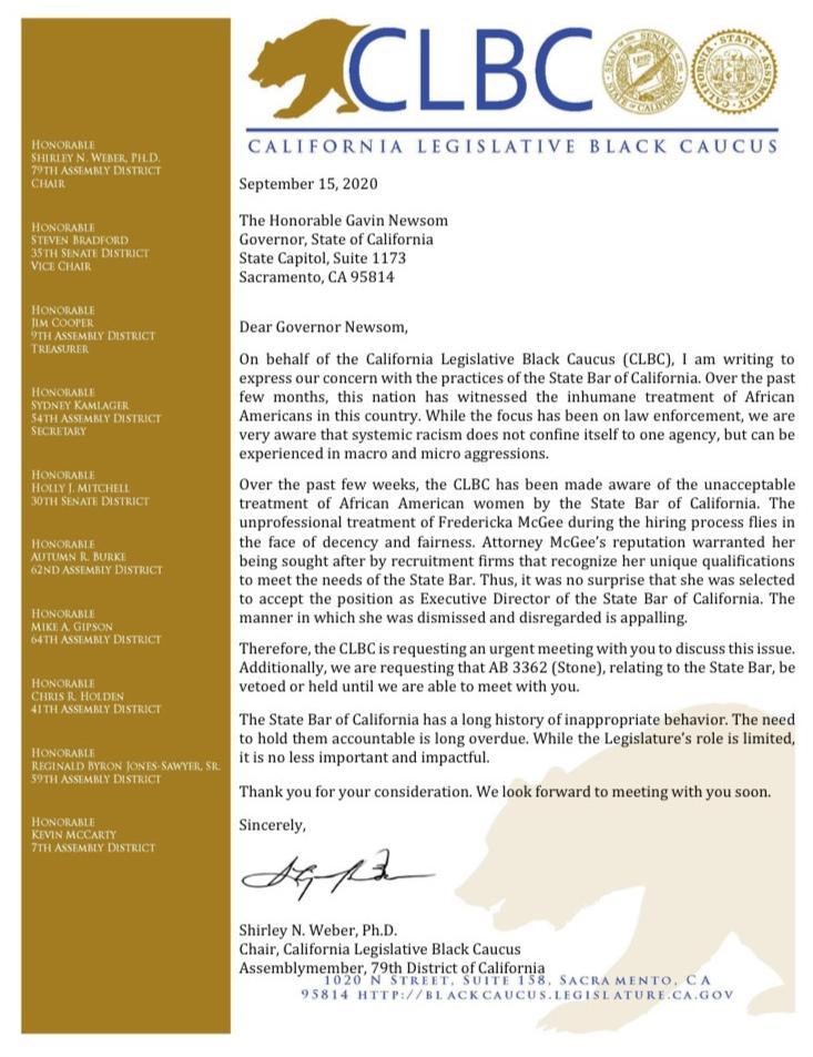 CLBC letter