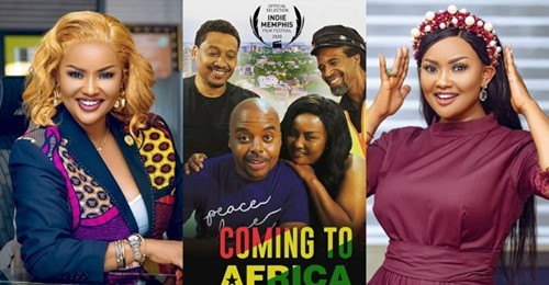 Coming to Africa - poster small