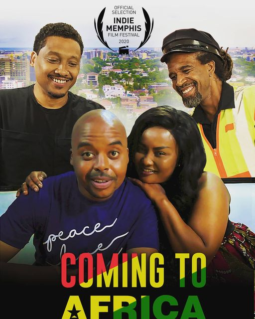 Coming to Africa - poster