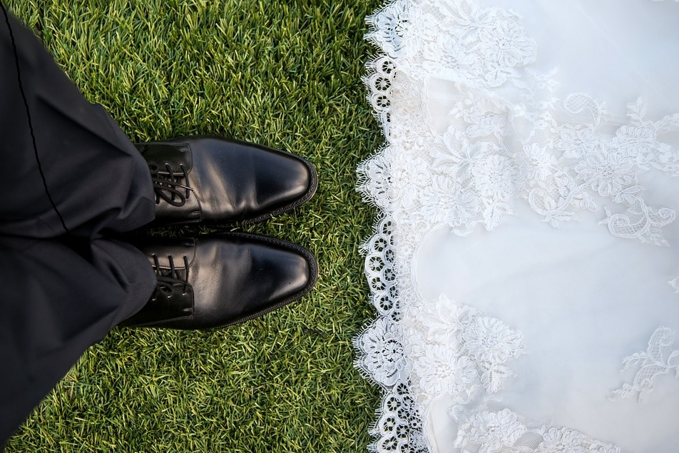 Stock image wedding day