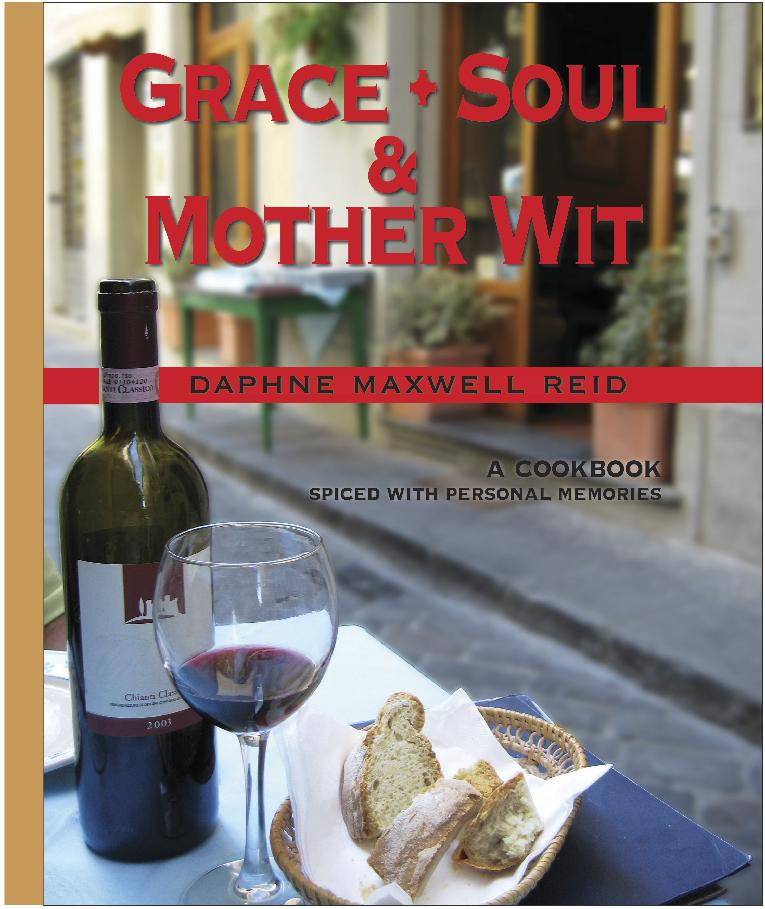 Daphne Maxwell Reid - cookbook cover