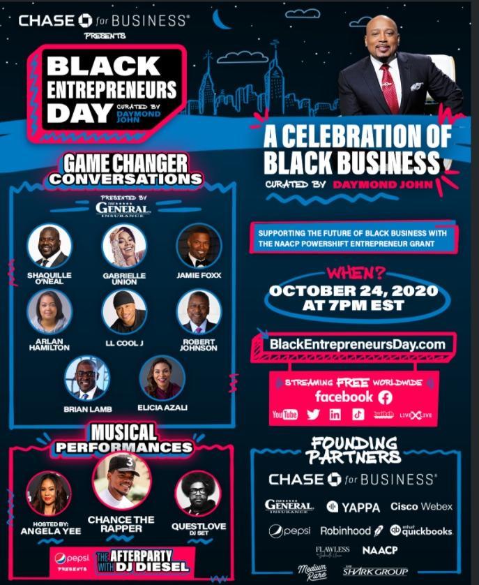 Daymond John - Black Entrepreneurs Day