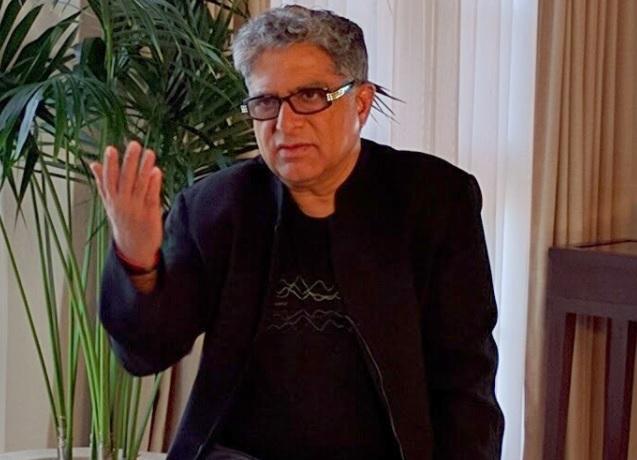 Deepak Chopra from DeepakChopra dot com