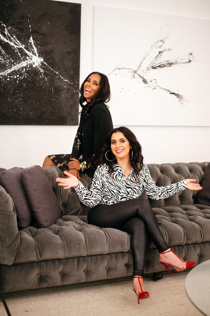 Dina Marto and Courtney Rhodes