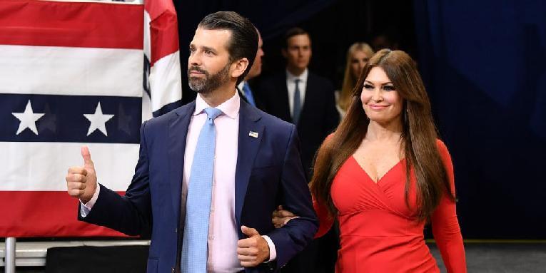 Donald Trump Jr & Kimberly Guilfoyle - Getty- 5fb84b1832f2170011f70773