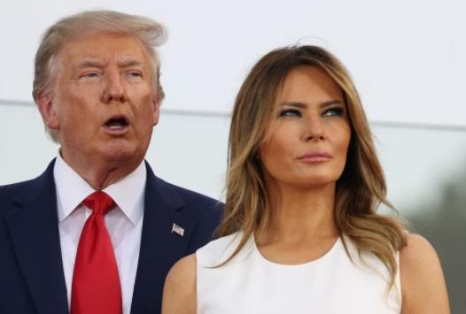 Donald and Melania Trump1 (Getty)
