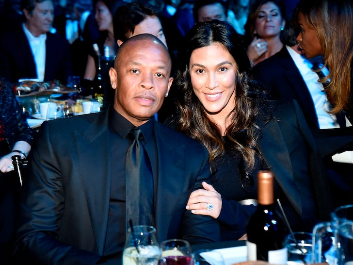 Dr Dre & Nicole Young (Getty)