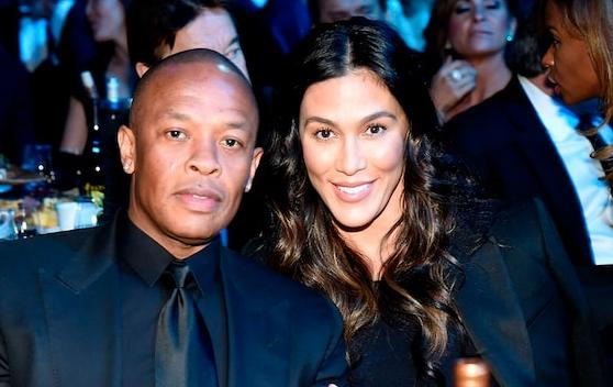 Dr Dre & Nicole Young1 (Getty)