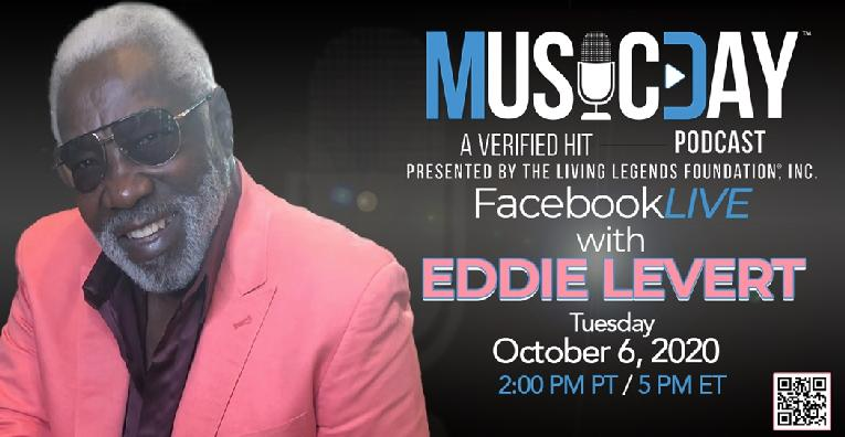 Eddie Levert - Music Day podcast logo