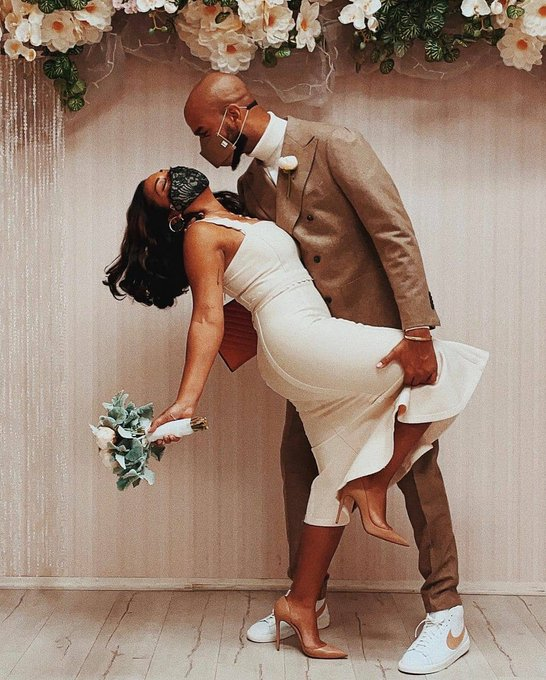 Melanie Fiona finally tied the knot with longtime beau, Jared Cotter,