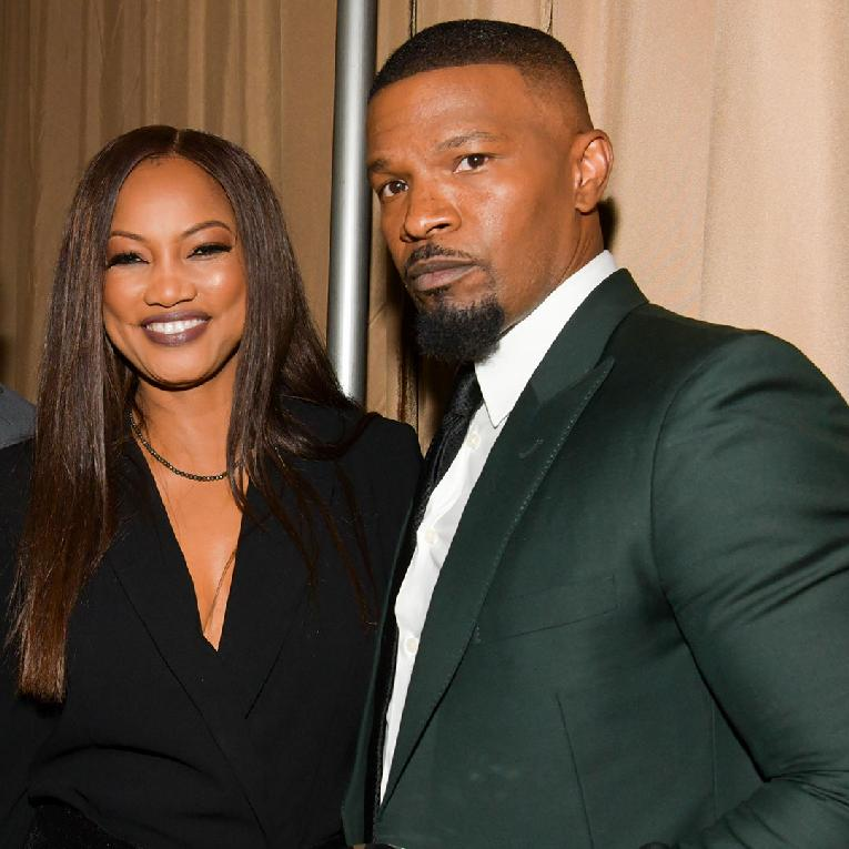 Garcelle Beauvais - Jamie Fox (Getty)