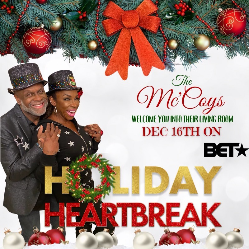 Holiday Heartbreak starring Michael Colyar approved flyer