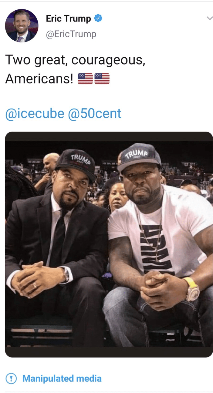 Ice Cube & 50 cent with trump caps - Screen-Shot-2020-10-20-at-9.29.51-AM