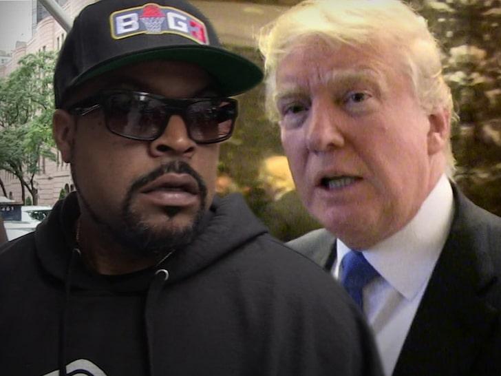 Ice Cube & Trump