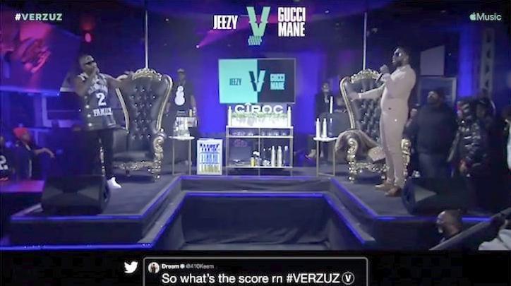 Jeezy - Gucci mane Verzuz screenshot
