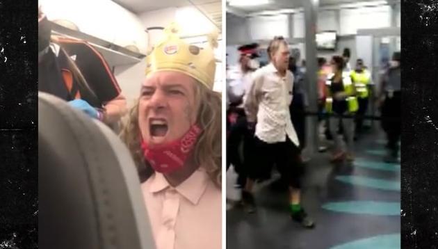 Jet Blue passenger screaming nigger - main (King_Meka - Twitter)