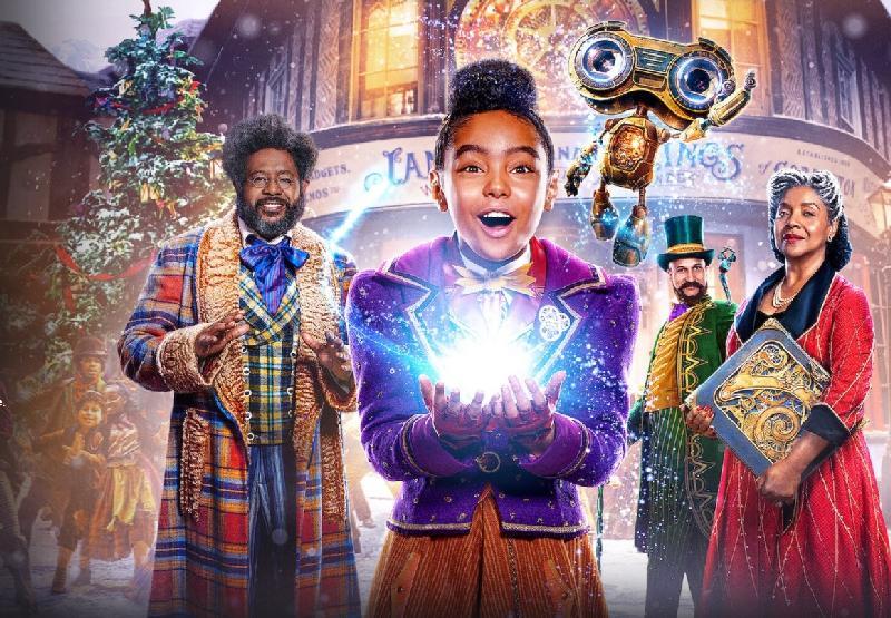 Jingle Jangle cast