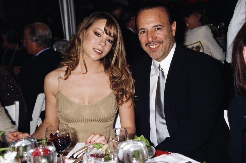 Mariah Carey & Tommy Mottola (Getty)