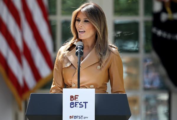 Melania+Trump+First+Lady+Melania+Trump+Speaks+o-VbX7YrajSl