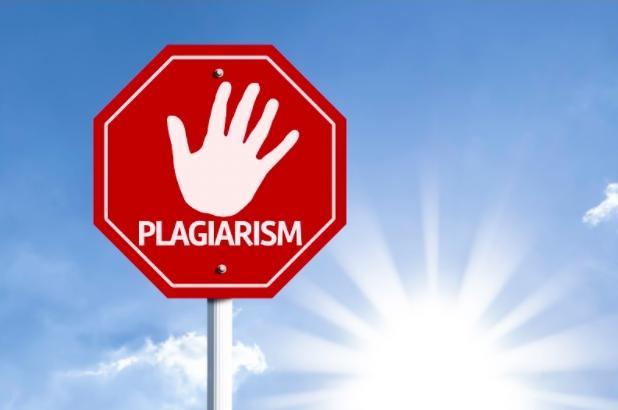 Plagiarism Stop sign